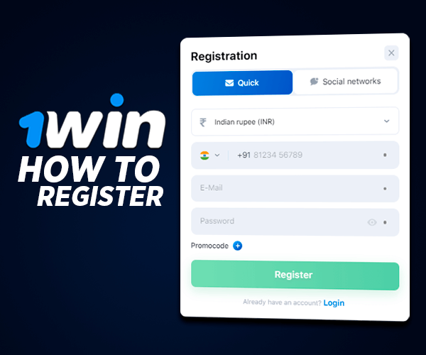 How to Register at 1win Live Casino and Start to Play?