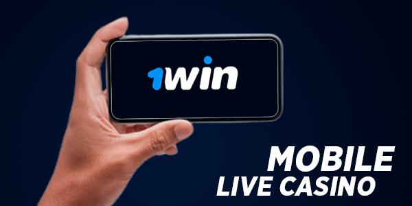 1win Mobile Live Casino Platform