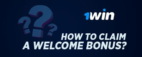 How to claim a welcome bonus?